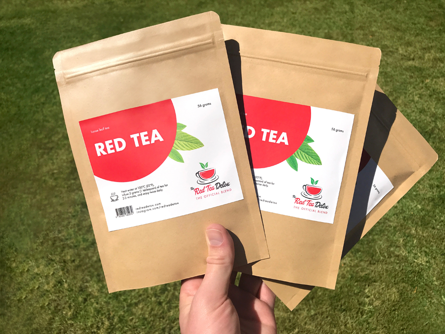 3 Packets of Red Tea Detox